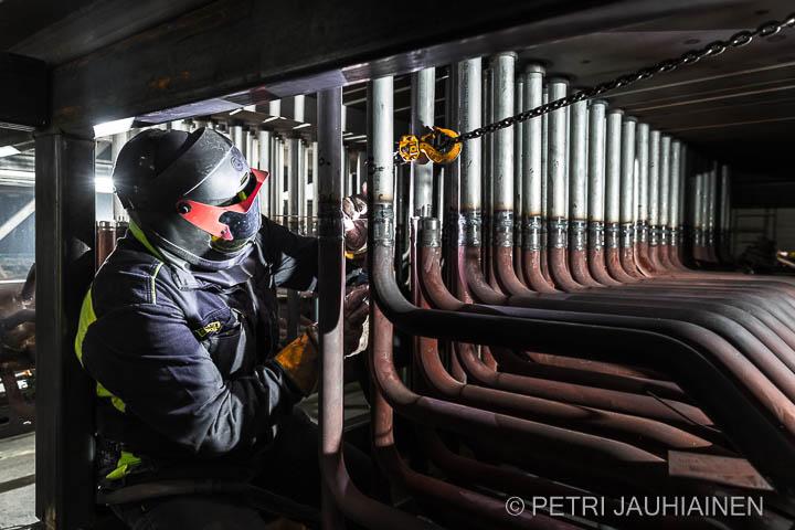 Hiekkatulistimen uusiminen Kuopion Energialle