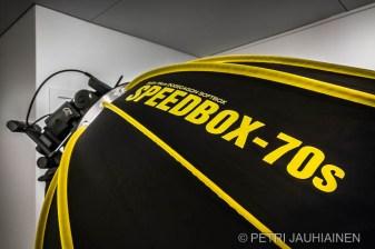 Speedbox-70s valokuvaaja Petri Jauhiainen