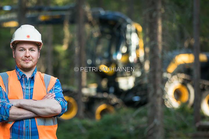 Kuvaussuunnitelmasta kuvaksi – Stora Enso Metsä
