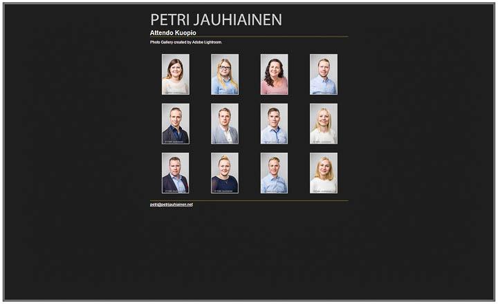 Attendo henkilöstökuvaus valokuvaaja Petri Jauhiainen Kuopio