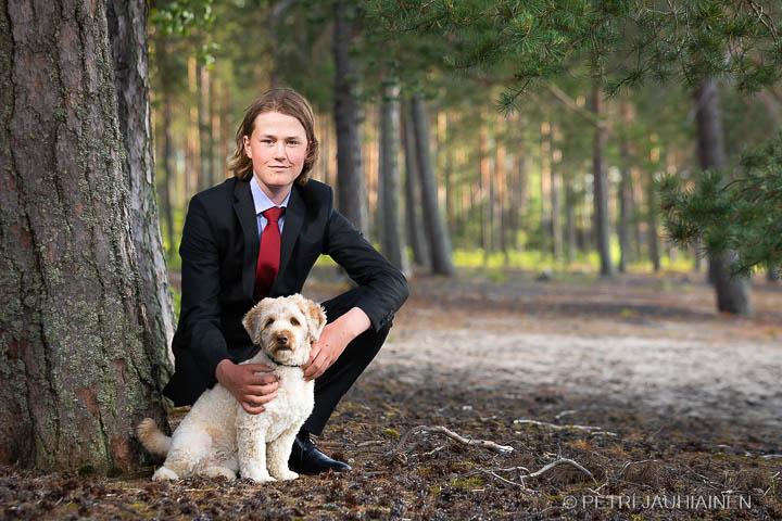 Rippikuvaus miljöössä valokuvaaja Petri Jauhiainen Kuopio