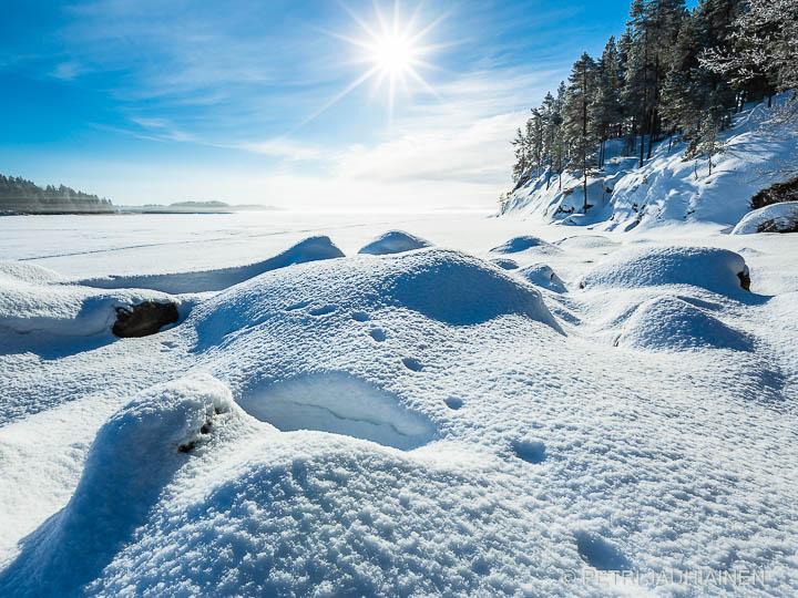 Raikas talvisää valokuvaaja Petri Jauhiainen Kuopio