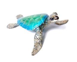 "Aruba, Medium: Bronze Size: 6"" x 7"" x 2.5"" Edition: 250 Catalog: #BT4 Artist: Chris Barela"
