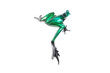 "Clover, Medium: Bronze Release: 2012 Edition: 2000 Catalog: BF157 Size: 4"" x 7"" x 6"" Artist: Frogman"