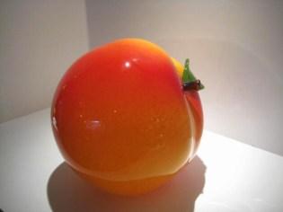 Cohn Stone Giant Peach Glass Artist: Cohen Stone