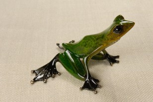 "Emerald, Medium: Bronze Catalog: BF93 Size: 3.25"" x 5.5"" x 5.5"" Artist: Frogman"