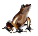 "Frederick, Medium: Bronze Release: 2012 Edition: 100 Catalog: BF165 Size: 21"" x 21"" x 17"" Artist: Frogman"