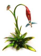 "Hummingbird, Medium: Bronze Release: 2013 Edition: 200 Catalog: BF175 Size: 12"" x 14.75"" x 11.5"" Artist: Frogman"