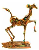 "Brioso, Medium: Bronze Size: 17.5"" x 16"" x 5"" Artist: Nano Lopez"