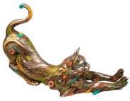 "Gavin, Medium: Bronze Size: 7"" x 12"" x 6"" Artist: Nano Lopez"