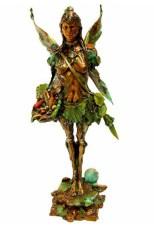 "Maria Angelica, Medium: Bronze Size: 24"" x 14"" Artist: Nano Lopez"