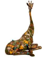 "Savannah, Very Limited Availability Medium: Bronze Size: 23.5"" x 19"" x 13"" Artist: Nano Lopez"