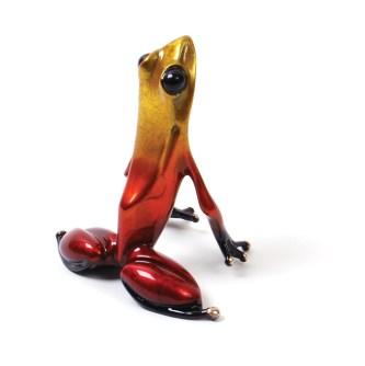 "Lotus II, Medium: Bronze Catalog: BF84-II Size: 3"" x 3.25"" x 2.5"" Artist: Frogman"
