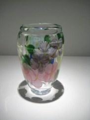"Bouquet-Vase, Medium: Glass Size: 8"" x 4.5"" Artist: Justin and Steven Lundberg"