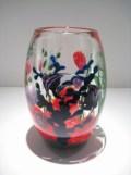 "Reef-Vase, Medium: Glass Size: 9.5"" x 6"" Artist: Justin and Steven Lundberg"
