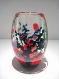 "Reef-Vase, Medium: Glass Size: 9.5"" x 6"" Artist: Justin and Steven Lundberg"