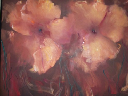 "n The Still of The Night1, Medium: Oil on Canvas Canvas Size: 48"" x 60"" Framed Size: 60.25"" x 72.25"" #15505 Artist: Victoria Montesinos"
