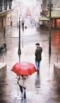 """Last-Chance-Glance, Medium: Original Oil on Canvas Size: 45"""" x 26"""" #20250 Artist: Daniel del Orfano"""
