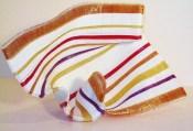 "Lion-Queen, Medium: Glass Rods Size: 13"" x 9"" x 10"" Artist: Carole Perry"