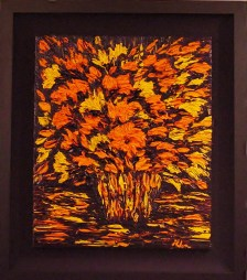 "Orange Gem, Medium: Original Oil on Canvas Size: 20"" x 24"" Artist: Helen Petri"