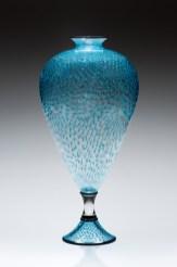 Teal-Splash, Medium: Glass Size: Artist: Kenny Pieper