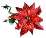 "Poinsettia, Freddie, Release: 2015 Medium: Bronze Catalog: BF203 Edition Size: 250 Size: 6"" x 4"" x 2.5"" Artist: Frogman"