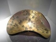 """Maple-Bowl, Medium: Glass Size: 21"""" x 20"""" x 8"""" Artist: Stephen Schlanser"""