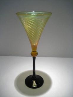 Strini-Amber-Black-Christie-Flute-Goblet