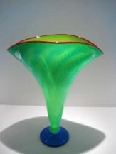 Strini-Aqua-Yellow-Fan-Vase