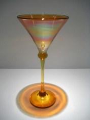Strini-Iron-Gold-Amber-Gimlet-Goblet