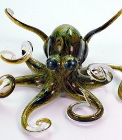 Earth Tone Octopus