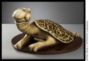 "Turtle Necked Sea Turtle 9.25"" x 16.75"" x 22"" Face"