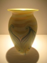 Celadon Green Wave Vase Artist: Robert Eickhold Catalog: 897-41-3 #21034 Price: $650.00 REDUCED: $295.00