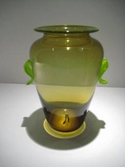 Foliage Form Leaf Vase Artist: Robin Mix