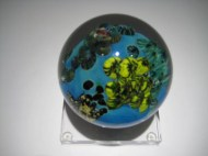 Mega World Paperweight Artist: Josh Simpson Catalog: 601-05-1