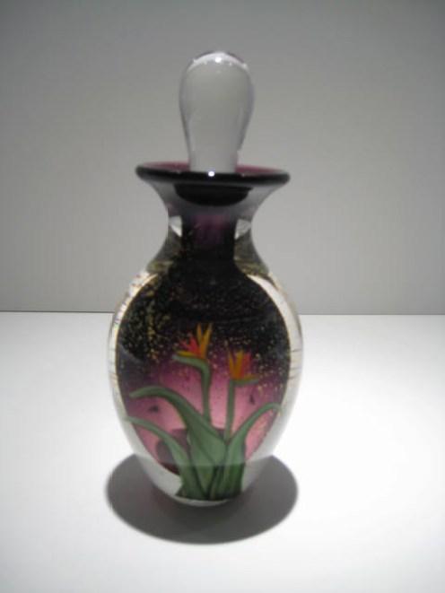 Bird of Paradise Perfume Bottle Artist: Leslie Wilton Catalog: 622-34-7