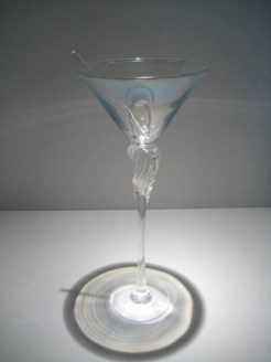 Ice Maidens Martini Glass Artist: Brioni Catalog: 602-51-5