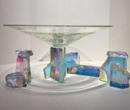 Dichroic Glass Set Dichroic Glass Artist: Steve Maslach