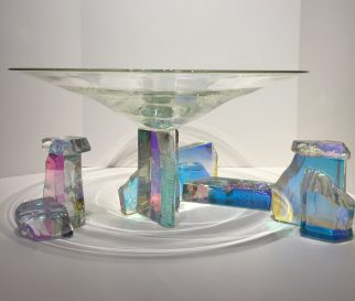 Dichroic Glass Set Dichroic Glass Artist: Steve Maslach
