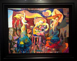 Baile en la Noche, Artist: Tadeo 36 x 48
