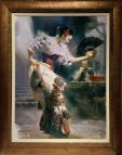 Dancer, Hand embellished Giclee Artist: Pino 30x40 #17988
