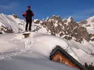 Na střeše winterraumu :-)