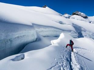 Ledovec budí respekt