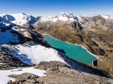 Vysoké Taury, jezero Moserbooden