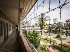 Kambodža, Phnom Penh, muzeum Tuol Sleng