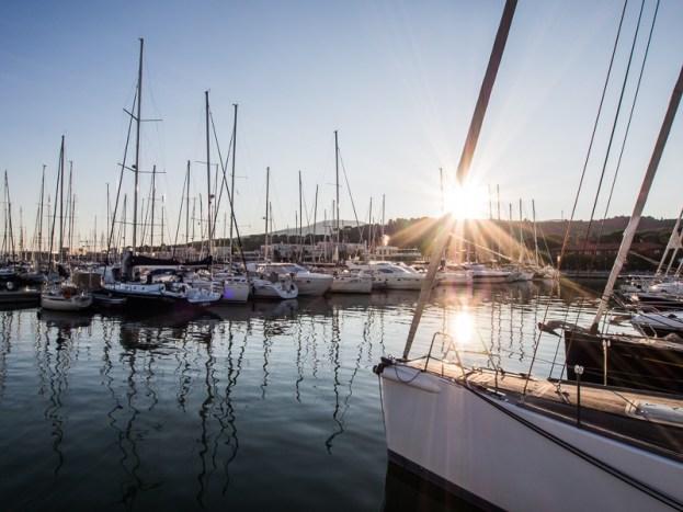 Follonica, domovská marina Tanta Roby