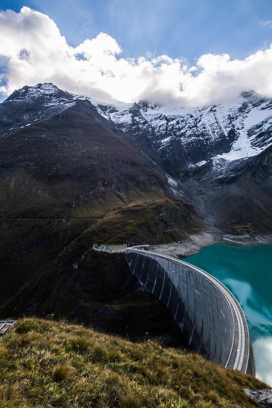 Nedělní počasí dole u přehrady