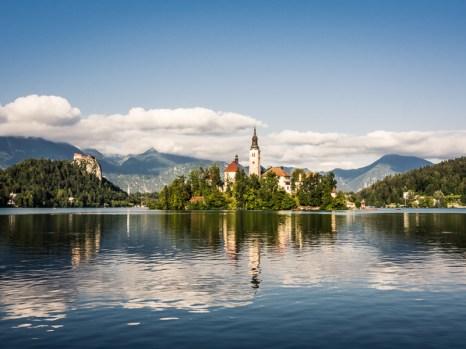 Julské Alpy - Bled