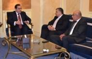 وزير البترول يلتقى مسئولى شركة شل لبحث برنامج العمل بمشروع تنمية المرحلة (9ب)