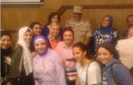 بالصور..أمينات المرأة بشركات قطاع البترول تشارك فى الدورة التدربيبة لاتحاد عمال مصر